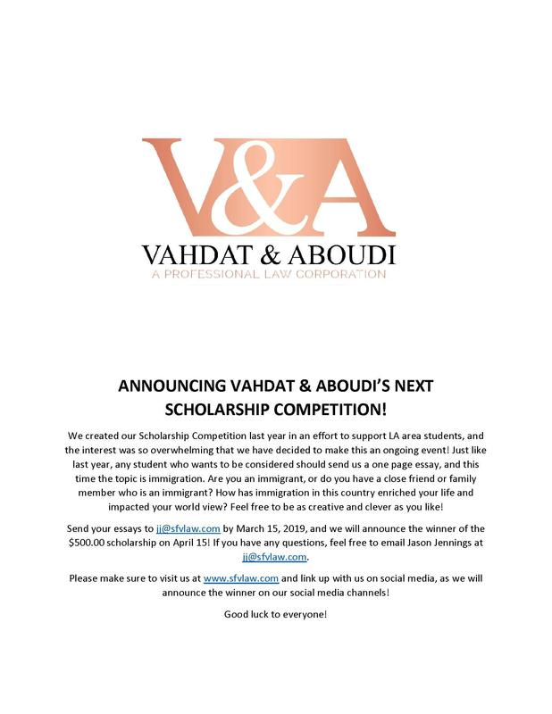 Scholarship Available for 8th - 12th Graders! Thumbnail Image