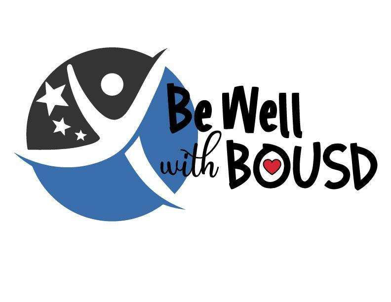 Be Well with BOUSD Logo