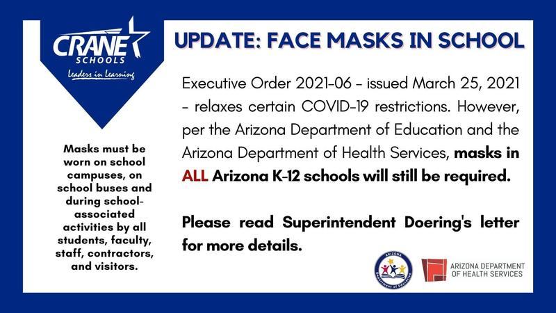 Update Regarding Face Masks Featured Photo
