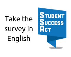 click to take survey in english (SSA Logo)