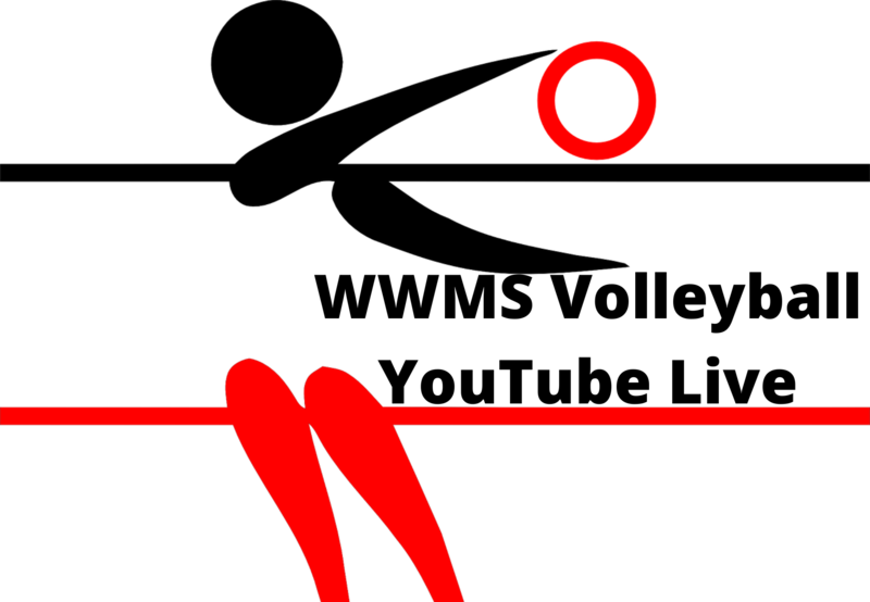 WWMS Volleyball Game (11-19-2020) Live Stream Thumbnail Image