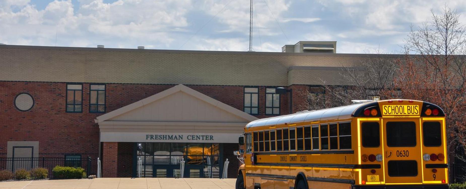 School Bus Arriving