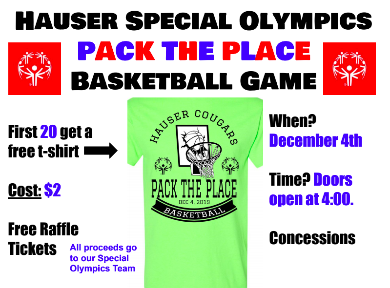 Special Olympics Pack the Place! Featured Photo