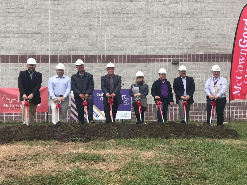 Ground Breaking Ceremony at HS