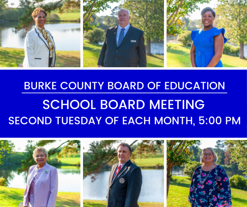 School Board Meeting is the second Tuesday of Each Month at 5:00 pm