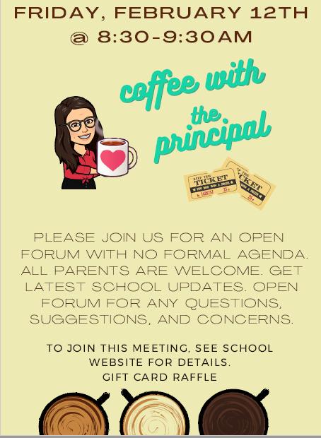 Coffee w/Principal 2.12
