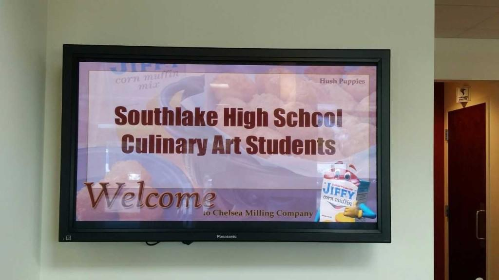 Welcome to South Lake Culinary Arts students