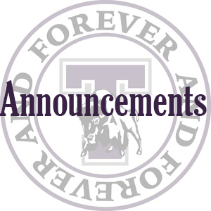 THS Announcements Logo
