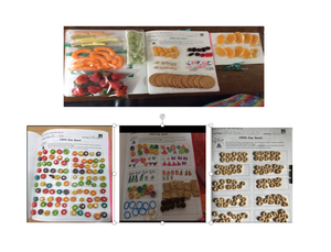 100 items of food collage