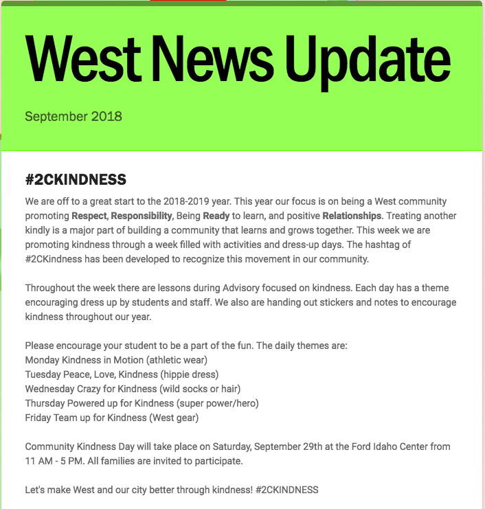 September News Update
