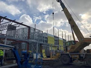 Eastside School new construction picture