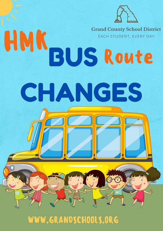 Attention HMK parents: bus routes changing on Sept. 8 Featured Photo