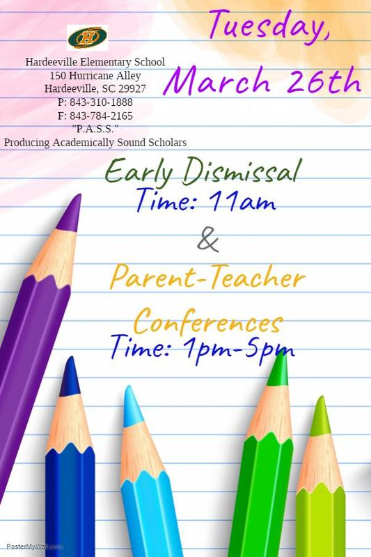 Early Dismissal & Parent Teacher Conferences/Despido Temprano y Conferencias de Padres y Maestros Featured Photo