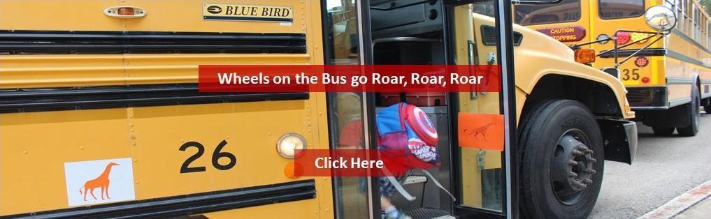 Wheels on the Bus go Roar, Roar, Roar