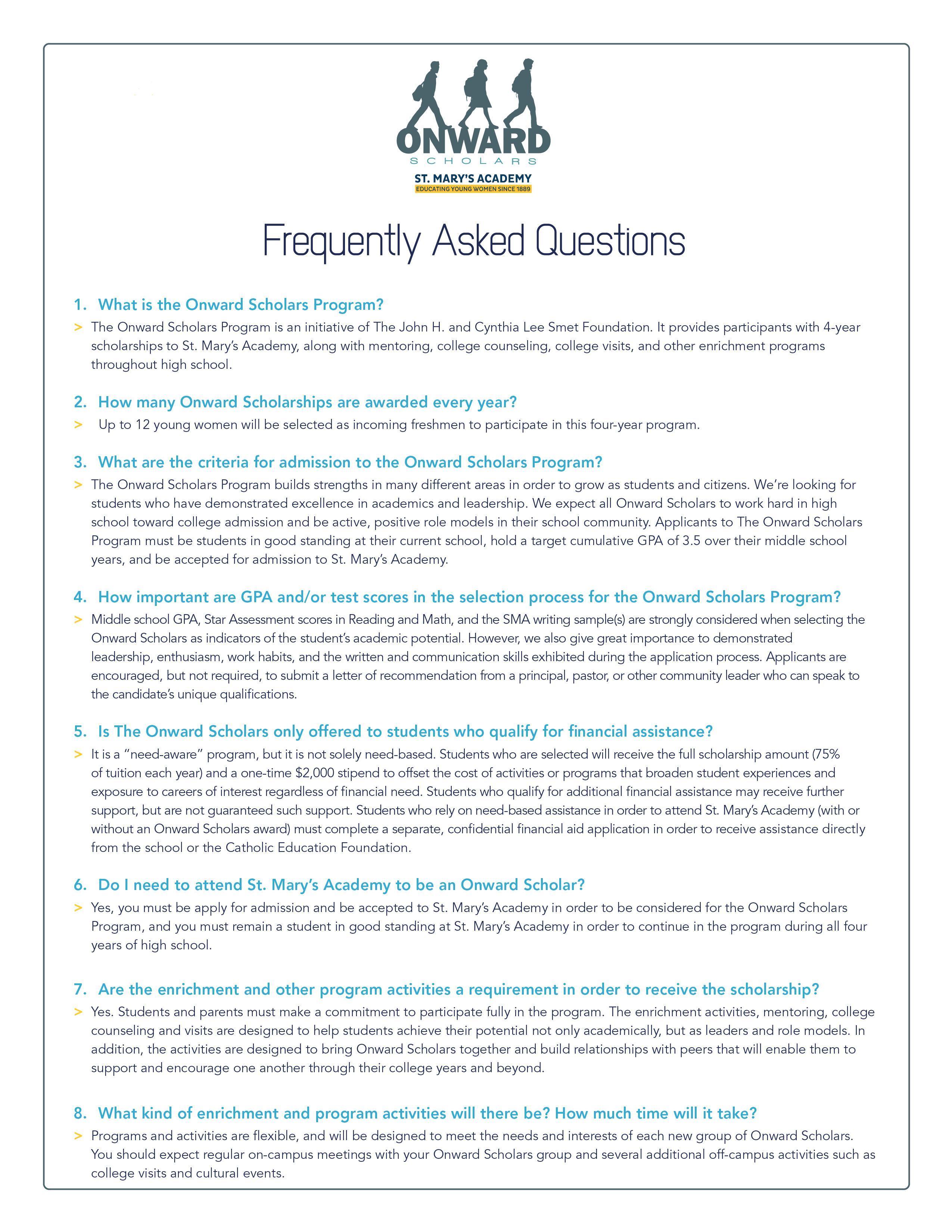 FAQ E1