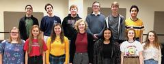 14 Brewer Choir students advance to state