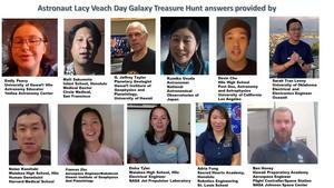 Images of Galaxy Treasure Hunt Participants