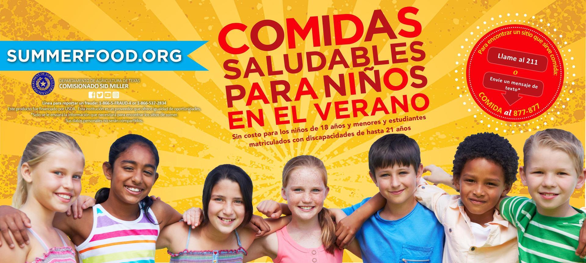 comidas de verano saludables para niños