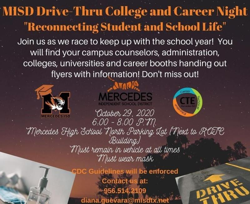 College and Career Night Drive Thru Featured Photo