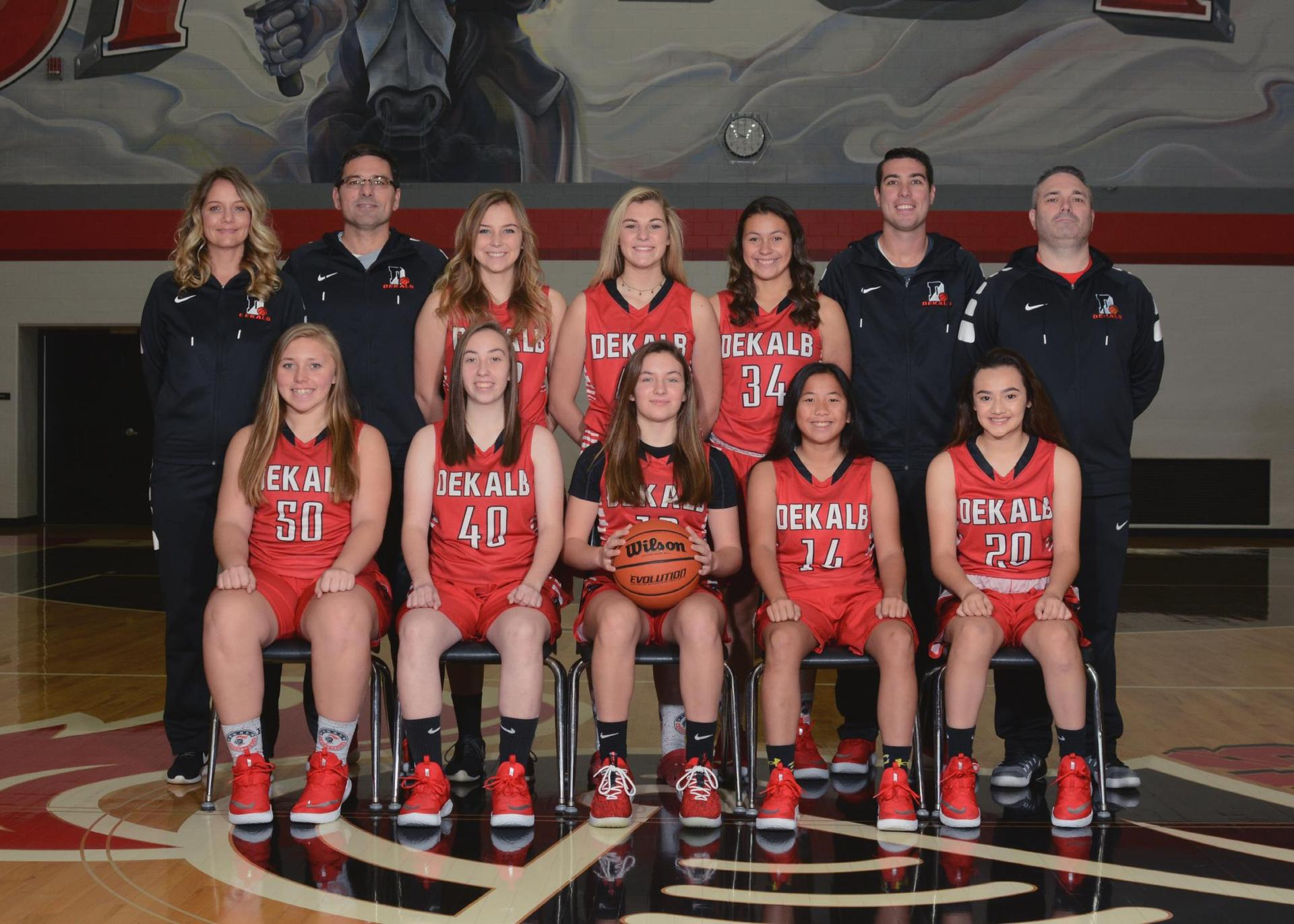 2018-2019 Junior Varsity Lady Baron Basketball