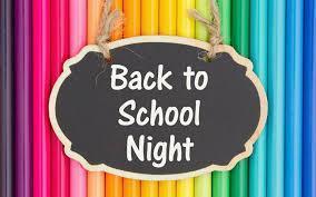 back to school night image
