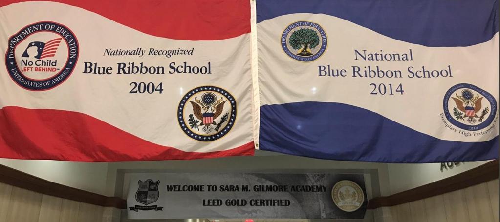 Blue Ribbon School Banners