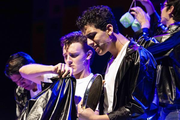 DPHS Theatre presents Grease preview to junior high theatre students