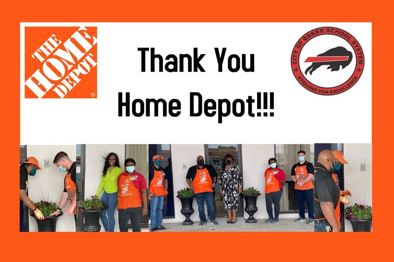 The Home Depot Donates to the CoBSS! Featured Photo
