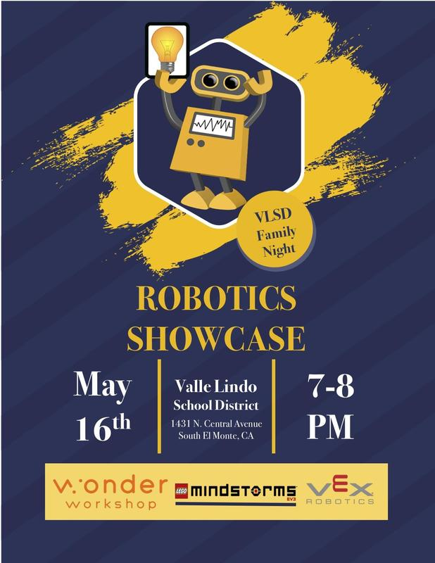 Robotics Showcase Flyer