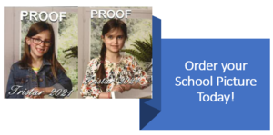 Order your School Pictures Today. Due March 23