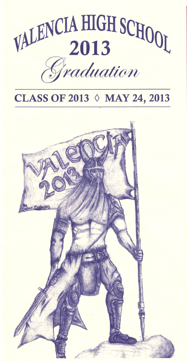 2013 program cover design by Dylan Mullaley