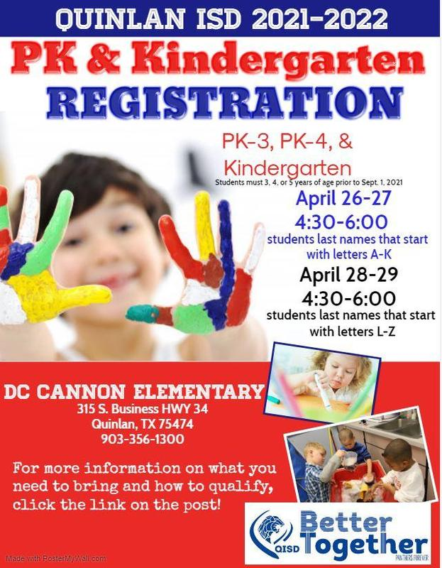 It's time for early Pre-K and Kindergarten Registration! Featured Photo