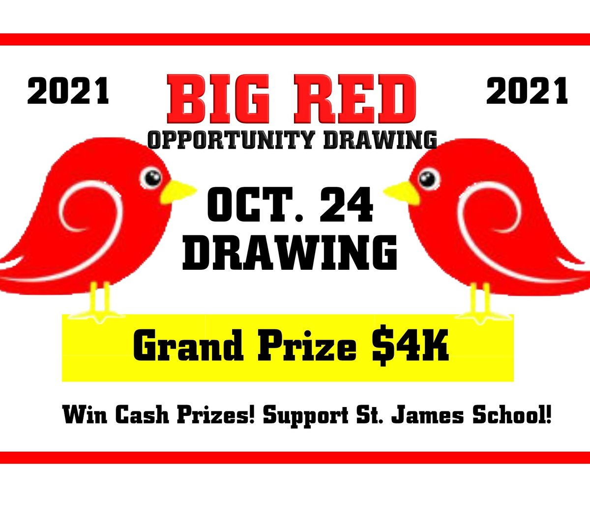 2021 Big Red Opportunity Drawing