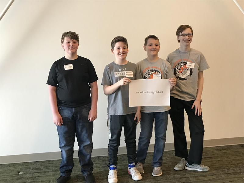 MJHS Students Participate in Mathcounts Thumbnail Image