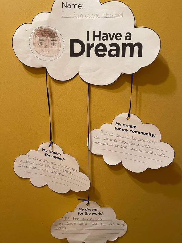 Ellison's I Have a Dream Activity