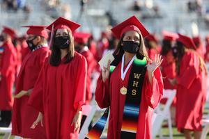 Whittier High School graduated 392 seniors during its graduation ceremony on June 2.