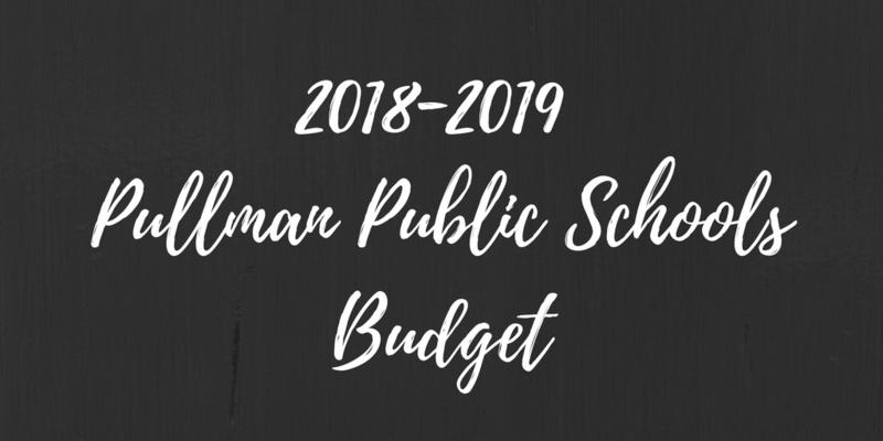 2018-2019 Pullman Public Schools Budget Thumbnail Image