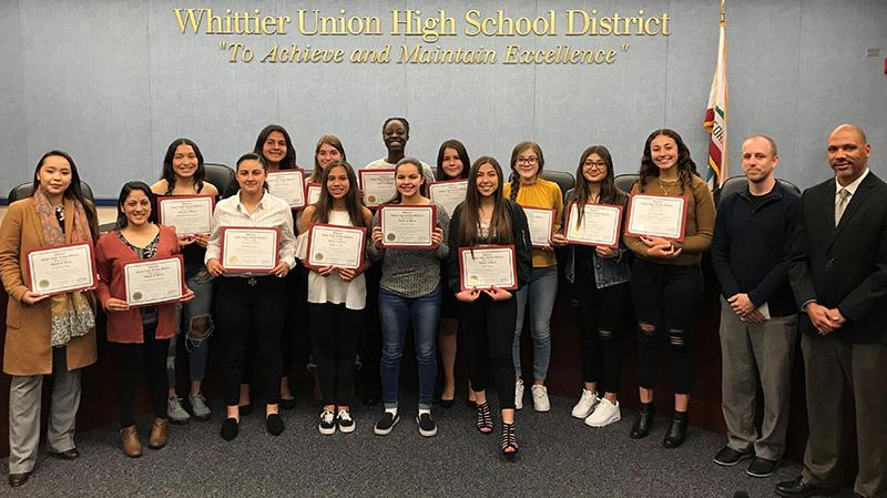 Santa Fe Girls' Basketball Team Honored for CIF Victory Featured Photo
