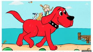 scholastic clifford the dog icon