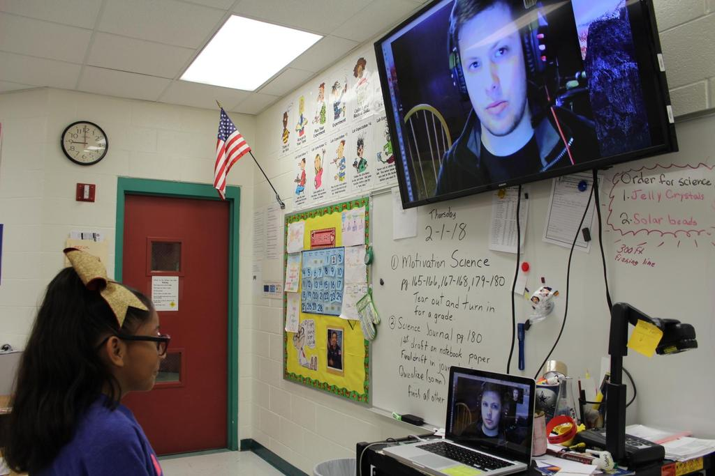 Skyping a scientist experience