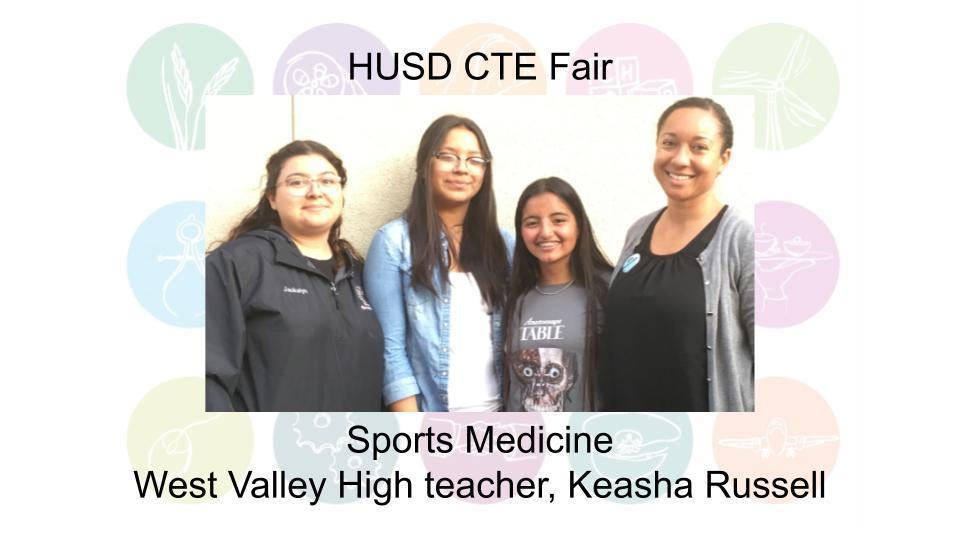 Sports Medicine West Valley High teacher, Keasha Russell