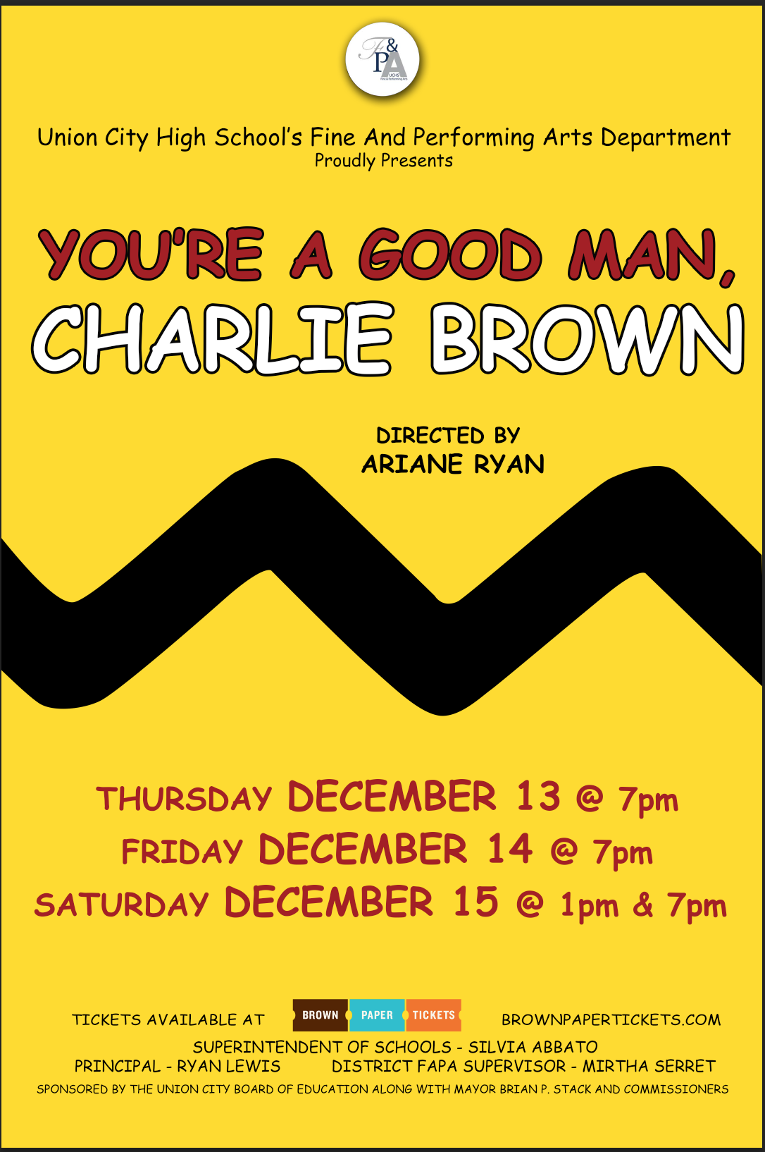 You're a Good Man Charlie Brown Poster