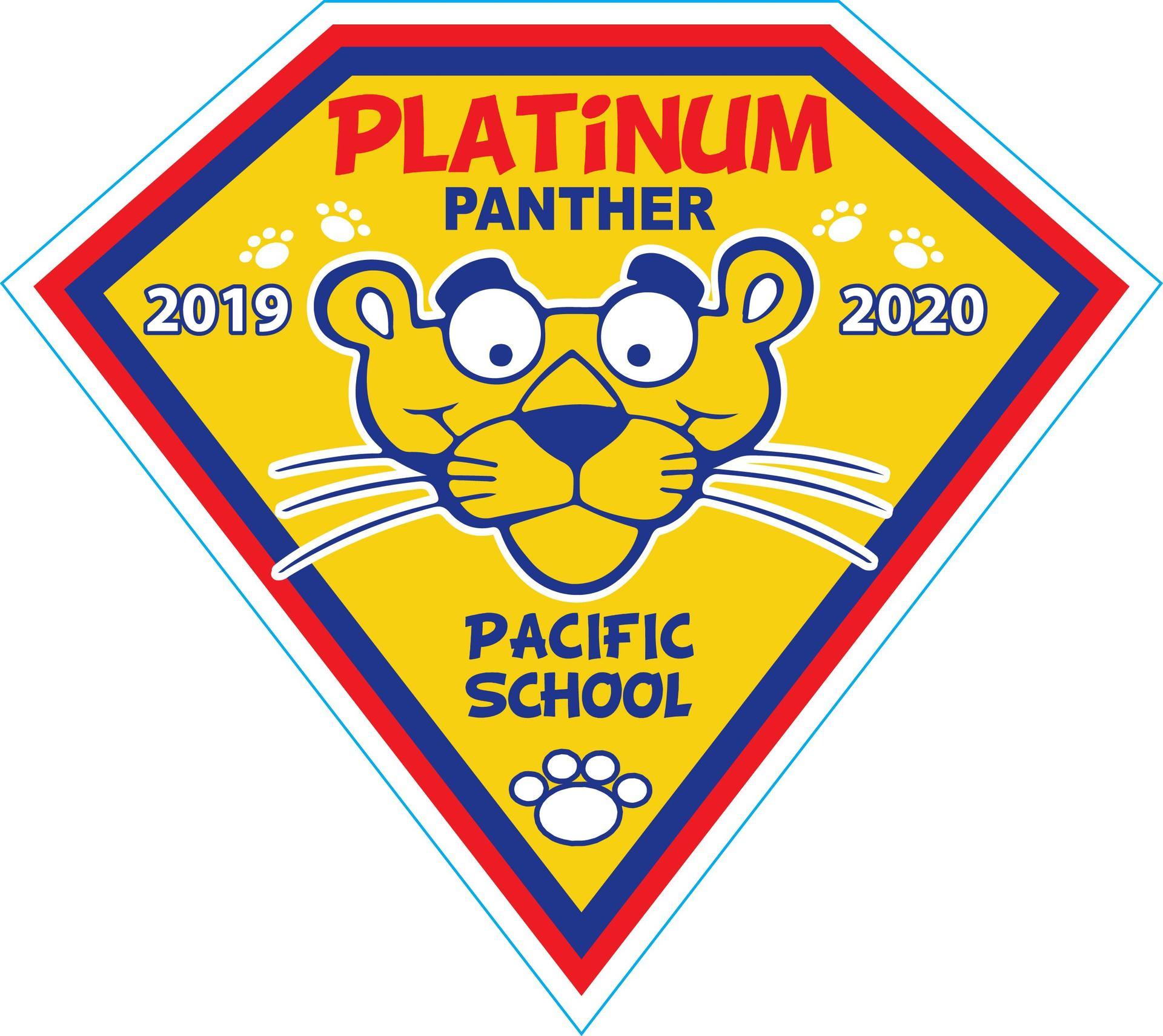 Platinum Panther Magnet