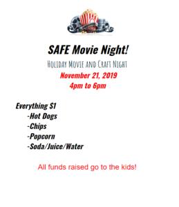 SAFE Movie Flyer