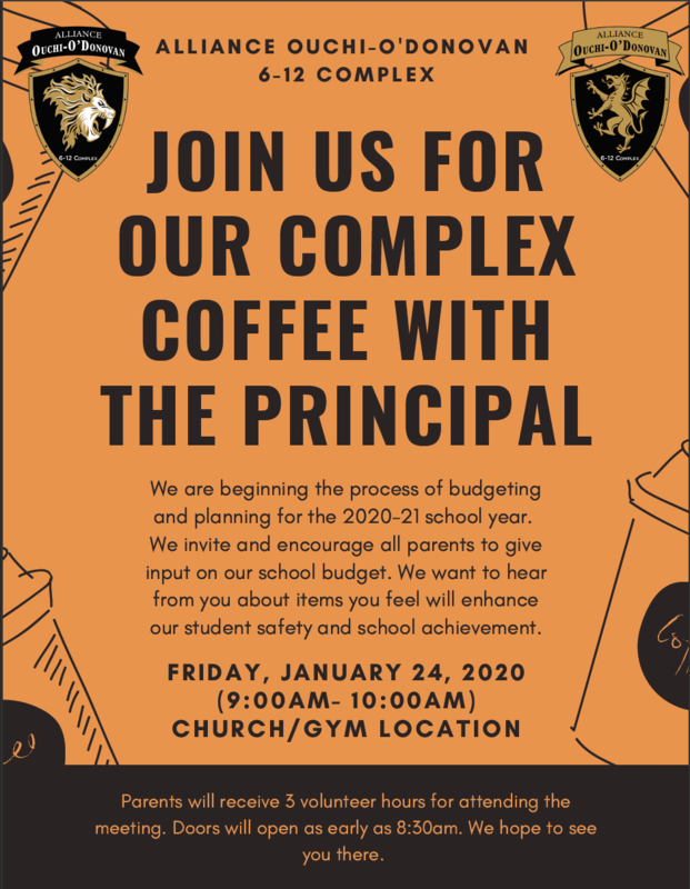 Complex Coffee with the Principals Thumbnail Image