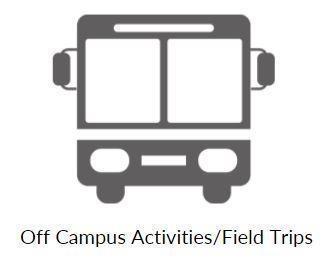 Field Trips/Off Campus Activities