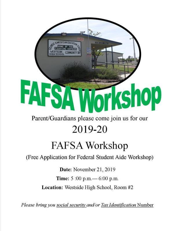 FAFSA Workshop Featured Photo