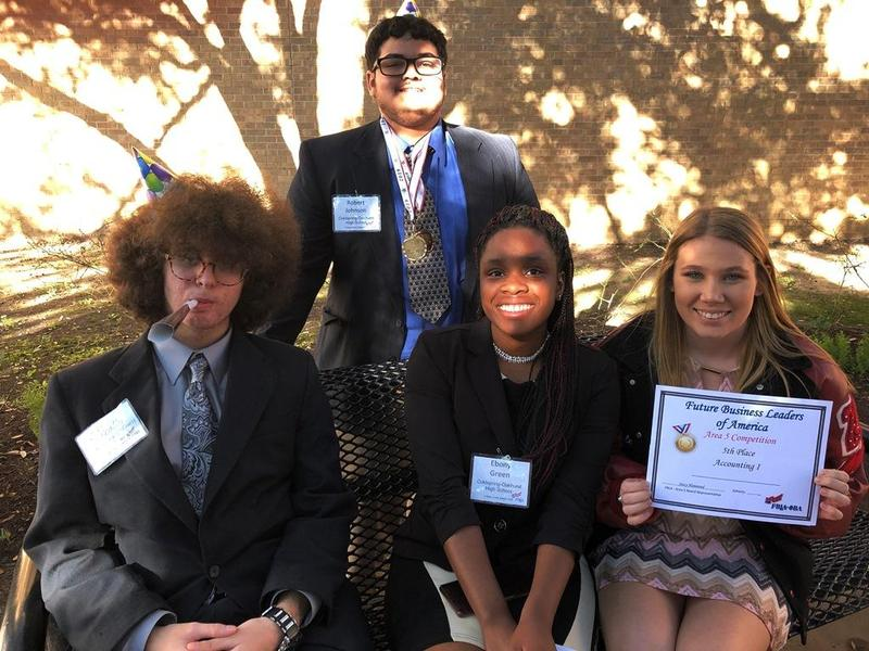 Future Business Leaders of America members head to state Thumbnail Image