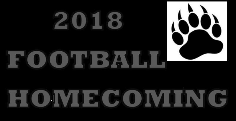 2018 Football Homecoming Clipart