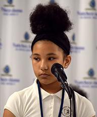 2nd Place Winner Natchez Adams 2020 Spelling Bee